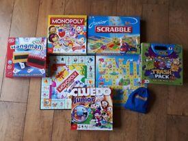 Junior Board Games Selection