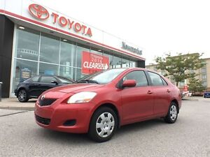 2012 Toyota Yaris ONE OWNER - ACCIDENT FREE - CERTIFIED