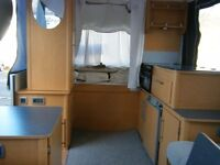 Folding Camper 4/6 berth good condition. Hot water and heating. plenty of storage space