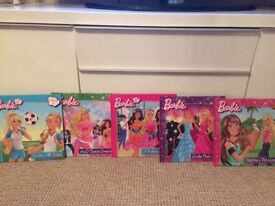 Monster high and barbie dolls and barbie books £25 for all