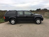 Isuzu Rodeo Denver Double Cab Pickup 2.5 Tdi Superb condition FSH 108,000 miles 2007 Most reliable
