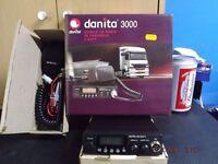 BOXED AS GOOD AS NEW DANITA 3000 MULTI CB RADIO