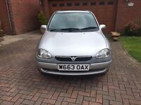 55 VAUXHALL CORSA 1.4 DESIGN 16V AUTOMATIC SPORTS MODE 5 DOOR IN SILVER FSH 1 PREVIOUS OWNER