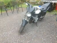 Suzuki Bandit 600. Good condition, striking white colour would make excellent first bike