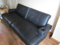 BLACK SOFA BED