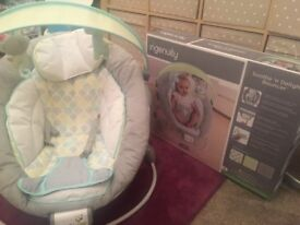 Ingenuity baby bouncer and soother