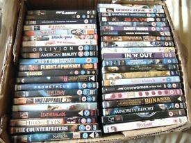 LOB LOT OF DVDS 42 IN TOTAL