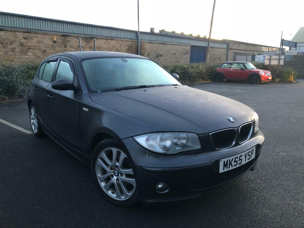 2006 bmw 1 series 118d se manual 5 door grey 12 months mot top spec half leathers alloys in. Black Bedroom Furniture Sets. Home Design Ideas