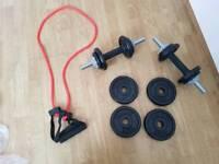 York hand weights