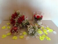Wedding Bouquets, Posies and Table Decorations