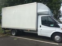 Man and van cheap van hire removals services