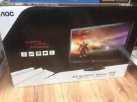 """AOC G2770PF Freesync 1920 x 1080 VGA HDMI DVI DisplayPort Speakers 27"""" Monitor"""