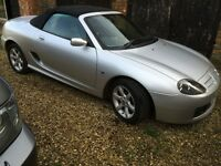 MG TF Convertible - silver - MOT AUG 2017 - low miles