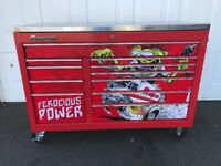 Snap On Toolbox KRA2411IPBO 54 x 24 Red roll cab Classic 78