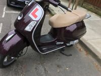 Vespa gt 125 excellent cond HPI clear low miles many new parts