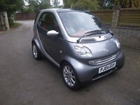 SMART CAR FORTWO - FULL SERVICE HISTORY & JUST SERVICED - MOT JUNE 2018 & £30 ROAD TAX