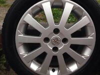 Vauxhall Astra 04 Mk4 Sport 16 Inch Alloy Wheels & Tyres .