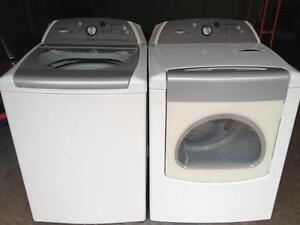 39- WHIRLPOOL CABRIO STEAM Laveuse Sécheuse Washer Dryer