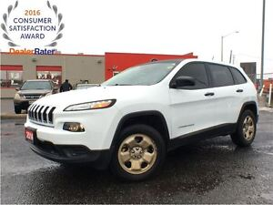 2014 Jeep Cherokee SPORT**4X4**V6**BLUETOOTH**HEATED SEATS**REMO