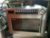 Commercial heavy duty Samsung microwave 1850 watts