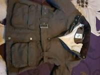 Ladies size 12 crew clothing coat