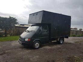 Ford Transit Horsebox 3.5 VGC Black