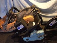 sthil saws x2 one parker and 1 emak both spares repairs please see description