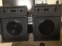 Speakers For Sale 2 sets I Have Never Used Them