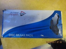 VAUXHALL /OPEL CORSA ALLIED NIPPON FORNT BRAKE PADS OE QUALITY