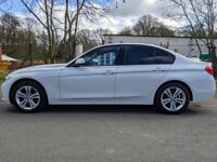 BMW 3 SERIES (320i Sport) 2.0L Manual White - Immaculate condition, low mileage