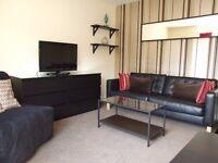 Modern 1 Bedroom Apartment near Edinburgh Centre : Flexible Stay : Free Parking : WiFi : Quiet