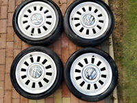 "GENUINE VW UP! 16"" CLASSIC ALLOY WHEELS"