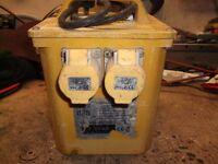 110 v transformer box