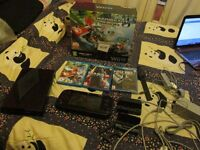 MARIOKART 8 PREMIUM PACK WII U CONSOLE 32GB BUNDLE 3 X GAMES
