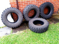 4 x Insa Turbo Special Track Off Road Mud/Snow/ Farm Tyres 265/75/R16 16 Inch- Discovery, Shogun