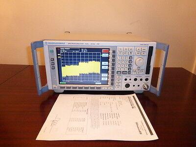 Rohde Schwarz Fsp30 9 Khz To 30 Ghz Spectrum Analyzer - Calibrated