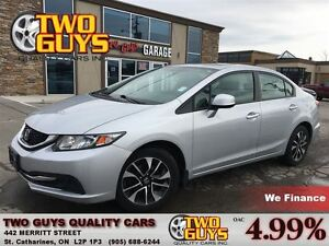 2013 Honda Civic EX MOON ROOF ALLOYS
