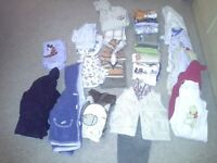 Baby boy clothes bundle 12/18mnths 30 items,good clean cond,smoke and pet free home