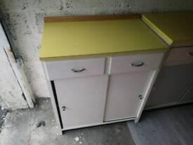 Vintage 2 drawer unit