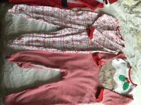 Baby boy Christmas outfits 9-12 and 12-18 months