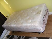 CAN DELIVER - CRAFTMATIC ELECTRIC DOUBLE BED WITH MATTRESS IN GOOD CONDITION