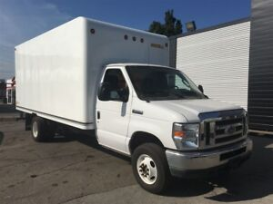 2016 Ford E-350 16 ft cube van with ramp