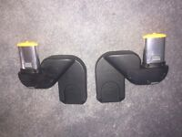 Icandy peach lower car seat adapters