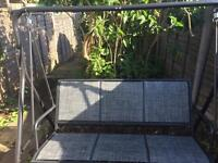 Hammock and Garden Table with 6 chairs