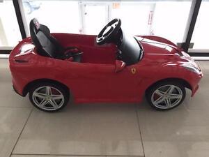 New Kids Ride on car 12V Electric Ferrari 599 Remote Controlled MP3 Jack LED Light - BLACKFRIDAY SALE ON - $100 OFF