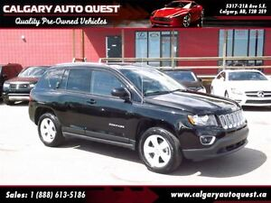 2015 Jeep Compass Sport High Altitude Edition 4WD/LEATHER/SUNROO