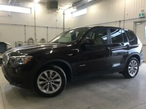2015 BMW X3 xDrive28i, AWD, Jamais accidenté