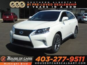 2013 Lexus RX 350 F Sport / Sunroof / Heated Seats / Back Up Cam