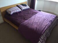 Kingsize Malm Bed With Mattress
