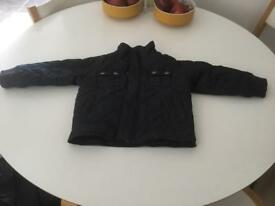 Little boys Ted Baker navy padded jacket 12-18 months £3